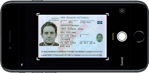 licence front image